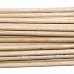 100% tout Naturel en bois rond cure-dents Bois cure-dents 6,6cm Longueur 1Lot de 500CT de la marque Antetok image 2 produit