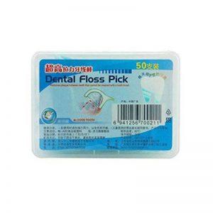50 pièces utiles Superfine Santé Floss Floss Toothpick Choisissez forte traction de la marque Blancho Bedding image 0 produit