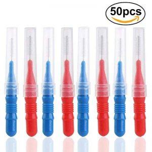 50pcs Dentaire Orthodontique Soins Oraux Brosse Interdentaire Cure-Dents Entre Les Dents Brosse Kit de la marque ULTNICE image 0 produit