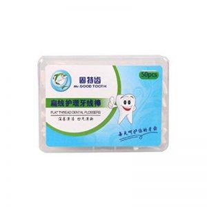 6 Boîtes Healthcare Superfine Floss Floss Toothpick Pick-forte traction de la marque Blancho Bedding image 0 produit