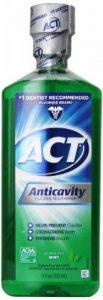 ACT Rince-bouche anti-caries fluoré Act - Sans alcool - 530 ml de la marque ACT image 0 produit