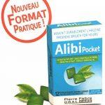 Alibi - Alibi pocket Assainit durablement l'haleine Pour une haleine PURE et SÛRE - Extrait de thé vert et d'huile essentielle de persil - Lot de 3 boites de 12 Pastilles à sucer de la marque Alibi image 1 produit