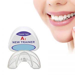 Appareil De Maintien Orthodontique, Fixateur D'alignement Des Dents, Appareil Orthodontique De Garde-Bouche Dentaire De Nuit, Étuis De Rangement (2 Étages, Adapté À Différentes Conditions Dentaires) de la marque HRRH image 0 produit