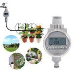Asixx Programmateur Arrosage, Minuterie d'Arrosage Automatique Solaire Programmateur d'Irrigation Contrôleur d'Irrigation avec Écran LCD pour Jardin Pelouse de la marque Asixx image 2 produit