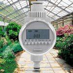 Asixx Programmateur Arrosage, Minuterie d'Arrosage Automatique Solaire Programmateur d'Irrigation Contrôleur d'Irrigation avec Écran LCD pour Jardin Pelouse de la marque Asixx image 3 produit