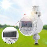 Asixx Programmateur Arrosage, Minuterie d'Arrosage Automatique Solaire Programmateur d'Irrigation Contrôleur d'Irrigation avec Écran LCD pour Jardin Pelouse de la marque Asixx image 4 produit