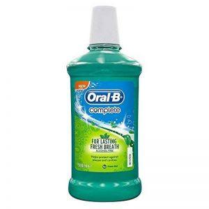 B Orale Rince-Bouche Sans Alcool Complète Menthe Fraîche (500 Ml) de la marque Oral-B image 0 produit