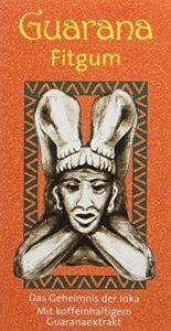 BADERs Guarana Fitgum de la pharmacie. Chewing-gum énergétique aux extraits de guarana. Le secret des Incas pour faire le plein d'énergie. Pack avantage 3 x 24 chewing-gums dragées (132 g). de la marque Ralf BADERs Gesundheit image 0 produit