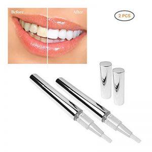 Blanchiment des dents Mallalah 2 PCS Stylo De Nettoyage En profondeur Blanchiment Dentaire Professionnel à la Maison Eliminer les taches et plaques de la marque Mallalah image 0 produit