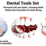 Blanchiment des dents Miroir dentaire Sonde de nettoyage des dents de soins de la marque CANDURE image 4 produit