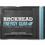 BLOCKHEAD Energy Gum Peppermint 120 pieces | Caffeine chewing gum with Vitamins B1, B6 & B12 and Ginseng | Sugar-free | Calorie-free | Vegan de la marque BLOCKHEAD image 3 produit