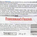 Boite de 24 sachets Fisherman menthol euca sans sucres de la marque Fishermans Friend image 2 produit