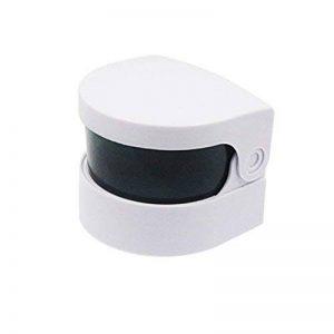 Boîte A Dentier Nettoyant Avec Vibrations ULTNICE Smart Mini sans fil Ultra Sonic Cleaner Bath pour le nettoyage de pièces de monnaie bijoux prothèses (blanc) de la marque ULTNICE image 0 produit