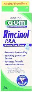 Butler - G-U-M Rincinol P. R. N Oral, Rinçage Chancre Mal Douleur Reliver 1770R, 4 Oz de la marque Rincinol image 0 produit