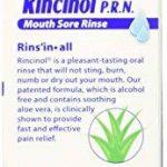 Butler - G-U-M Rincinol P. R. N Oral, Rinçage Chancre Mal Douleur Reliver 1770R, 4 Oz de la marque Rincinol image 1 produit