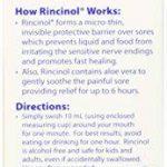 Butler - G-U-M Rincinol P. R. N Oral, Rinçage Chancre Mal Douleur Reliver 1770R, 4 Oz de la marque Rincinol image 2 produit