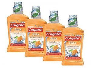 Colgate Oral care Bain de Bouche Plax Miel & Eucalyptol 500 ml - Lot de 4 de la marque Colgate image 0 produit