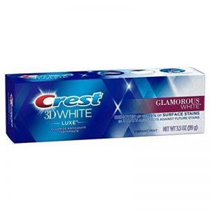 Crest 3D White Glamorous White Dentifrice 116 ml #PACK DE 3# Blanchiment des dents de la marque Procter & Gamble image 0 produit
