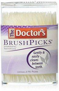 Cure-dents - Pour un nettoyage facile et en douceur - Paquet de 275 de la marque Doctors Brush image 0 produit