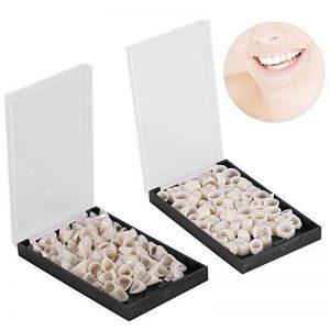 Dent Temporaire 100 Pièce Dentaire Couronne pour Dents Antérieures et Dents Postérieures en Résine Porcelaine Kit de Remplacement Soins de Buccal de la marque ZJchao image 0 produit
