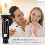 Dentifrice Naturel Pur Bio 100% - Betope dentifrice au charbon de bambou Menthe haleine fraiche, Blanchiment des dents sans fluor professionnel, Anti tartre (120g) de la marque Betope image 4 produit