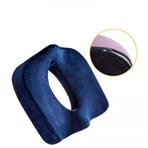 Dlsmy Hanche Hanche Ventilée Hémorroïdes Coussin Bureau Post-partum Prostate Gland Prothèse Décompression Hémorroïde Pad (Couleur : Bleu) de la marque image 0 produit