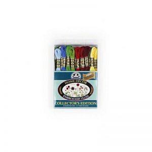 DMC 117F25-hdc Broderie Home Decor Floss Lot, Couleurs Assorties, 8m, 36/Lot de la marque DMC image 0 produit