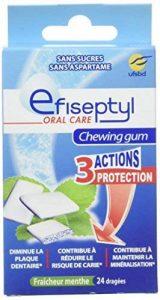 Efiseptyl Chewing Gum au Xylitol X24 Drages Lot de 3 de la marque Efiseptyl image 0 produit