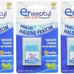 EFISEPTYL Haleine Fraîche 24 Feuilles Orodispersibles - Lot de 3 de la marque Efiseptyl image 3 produit