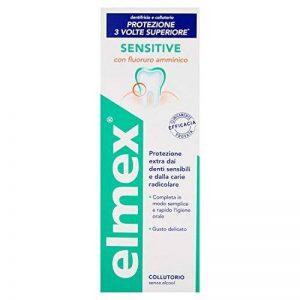 Elmex Sensitive 400ml plus rince-bouche de la marque Elmex image 0 produit