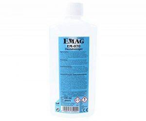 Emag EM–070Dental Nettoyant: Nettoyant à ultrasons concentré de nettoyage, dents de rechange, spécialement conçu pour appareils à ultrasons, 500ml de la marque Emag image 0 produit
