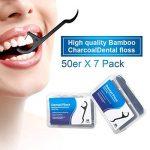 Fil Dentaire 350 PCS Porte-fil Dentaire Lot de 7 dental floss, la poignée HIPS confortable de qualité alimentaire de la marque Efantur image 1 produit