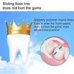 Fil Dentaire Cure Dent Complete Clean Nettoie en profondeur les Dents Resserrées et Réducteur de Plaques Dentaires, 50 pcs Fils Dentaire Dans une Boîte (lot de 4) de la marque image 1 produit