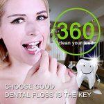 Fil Dentaire Cure Dent Complete Clean Nettoie en profondeur les Dents Resserrées et Réducteur de Plaques Dentaires, 50 pcs Fils Dentaire Dans une Boîte (lot de 4) de la marque Lukema image 2 produit