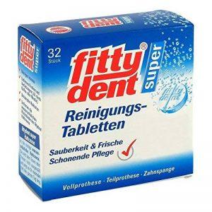Fittydent comprimés nettoyants 32 unités r61002 de la marque CSTLL image 0 produit