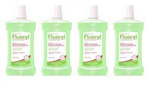 Fluoryl Bain de Bouche Protection des Gencives Sensibles 500 ml - Lot de 4 de la marque Fluoryl image 0 produit