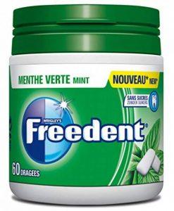 FREEDENT Chewing-Gums Dragées Menthe Verte en Boîte 84 g - Lot de 4 de la marque Freedent image 0 produit