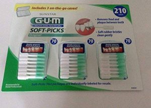 G.U.M Healthy Gums, Healthy Life Soft-Picks 210 Picks Includes 3 On-The-Go Cases by HEALTHY GUMS, HEALTHY LIFE de la marque HEALTHY GUMS, HEALTHY LIFE image 0 produit