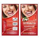 Grinigh 28 Bandes de Blanchiment des Dents Kit de Blanchiment Dentaire avec Huile de Noix de Coco Teeth Whitening Strips de la Technologie Avancée Anti-dérapant Qualité Professionnelle Efficacité Prouvée 14 Treatments de la marque Grinigh image 1 produit