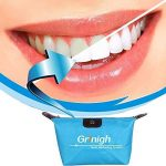 Grinigh Kit de Blanchiment des Dents de Qualité Professionnelle Soins Dentaire Blanchir à Domicile Maison avec Gel Zéro Peroxide Autorisé de la marque Grinigh image 1 produit