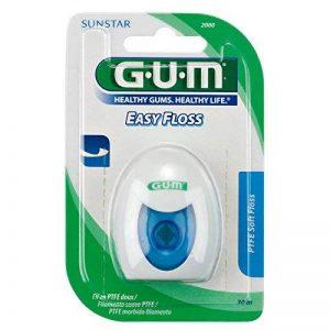 GUM–EEZ THRU Teflon Floss fil dentaire 50m 1St de la marque Sunstar image 0 produit