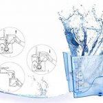 H2ofloss®Waterjet Hydropulseur Dentaire Dentacare Conception silencieuse (moins de 50db) avec 12 bouts multifonctionnels de l'irrigateur oral portatif (hf-8whisper) de la marque H2ofloss image 4 produit