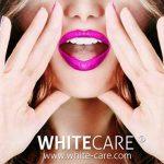 Kit blanchiment dentaire WHITE CARE Lady's Box Ⓡ dent blanche - Kit blanchissement dentaire lampe 5 LEDS BOOSTER avec gel blanchiment et gel reminéralisant. Les produits dentaire dans nos kits blanchiment des dents respectent émail et gencive. Saveur frai image 2 produit