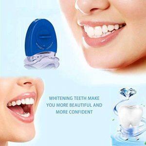À La Maison De Blanchiment Des Dents Accélérateur De Lumière, Puissant 5 Tubes LED Pour Blanchiment Des Dents De Traitement-Bleu de la marque Treeshu image 0 produit