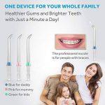 Lavany Hydropulseur 220ml, Oral Irrigateur sans Fil, Jet Dentaire, 3 Modes, Portable, Rechargeable, pour Soins Dentaires de la marque Lavany image 4 produit