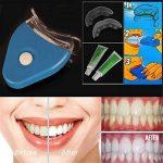 Les dents orales de gel blanchissant le kit de blanchiment de blanchiment de dents d'accélérateur de lumière de LED de la marque Nisels image 1 produit