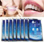 LuckyFine Pro 28Pcs Bandes Blanchiment Blanchisseur des Dents Blanchissement Dentaire White Strips de la marque LuckyFine image 2 produit