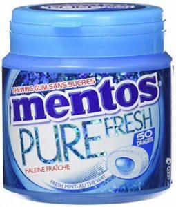 Mentos Gum Pure Fresh Mint - Pack de 4 Boîtes de la marque MENTOS GUM image 0 produit