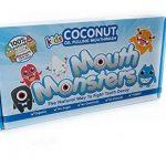 Mintycoco, huile de noix de coco, pour le blanchiment dse dents et le rince-bouche normal, saveur de menthe dans 14 paquets de la marque MouthMonsters image 2 produit