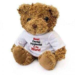 Nouveau–Best Dentaire Dentaire dans Le Monde–Teddy Bear–Mignon Tout Doux–Prix Cadeau d'anniversaire de Noël de la marque London-Teddy-Bears image 0 produit